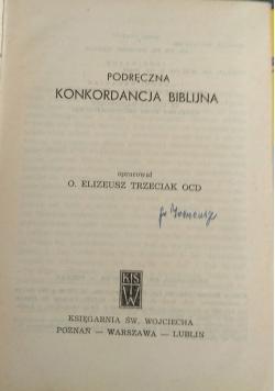 Podręczna konkordancja biblijna