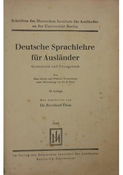 Deutsche Sprachlehre fur Auslander, 1943 r.