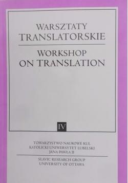 Warsztaty translatorskie