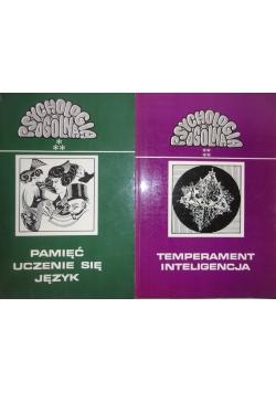 Pamięć Uczenie się Język/ Temperament Inteligencja