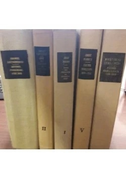 Historia powszechna, zestaw 5 książki