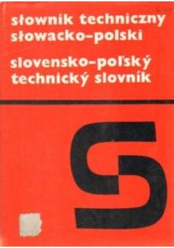 Słownik techniczny słowacko - polski