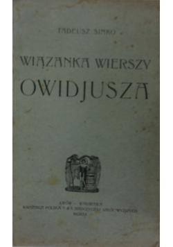 Wiązanka wierszy Owidjusza, 1920r.