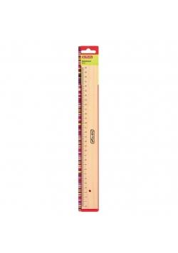 Linijka drewniana 30cm