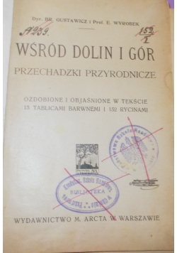 Wśród dolin i gór, 1914r