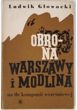 Obrona Warszawy i Modlina na tle kampanii wrześniowej