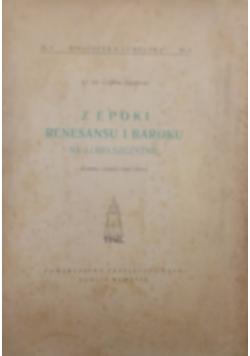 Z epoki renesansu i baroku na Lubelszczyźnie. Cz. 2, Katedra i jezuici, 1949r
