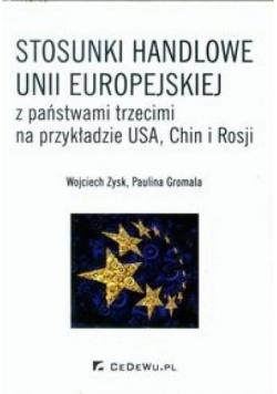Stosunki handlowe Unii Europejskiej z państwami...