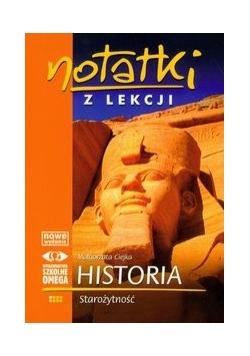 Notatki z lekcji : Historia : Starożytność