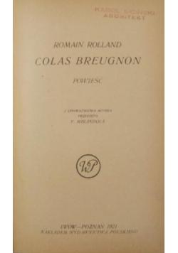 Colas Breugnon, 1921 r.