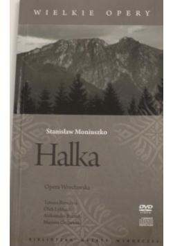 Halka. Wielkie Opery, DVD + CD