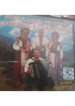 Popularne piosenki polskie i ukraińskie - CD