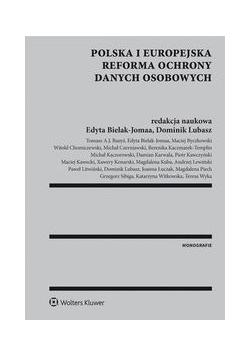 Polska i europejska reforma ochrony danych osobowych, Nowa