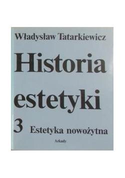Historia estetyki Tom III