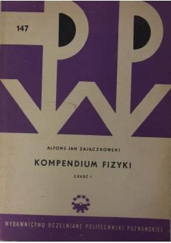Kompendium fizyki, część I