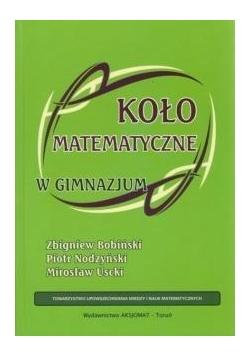 Koło matematyczne w gimnazjum