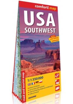 USA Południowo-Zachodnie (South-West USA) comfort! map laminowana mapa samochodowo-turystyczna 1:1 350 000