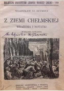 Z ziemi chełmskiej , 1927 .
