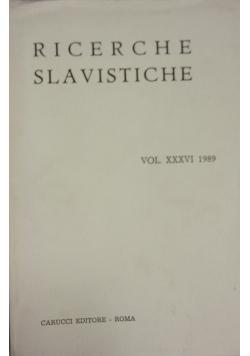 Ricerche Slavistiche