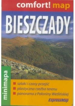 Comfort!map Bieszczady 1:200 000 mapa mini 2018
