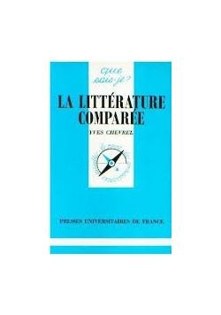 La Litterature Comparee