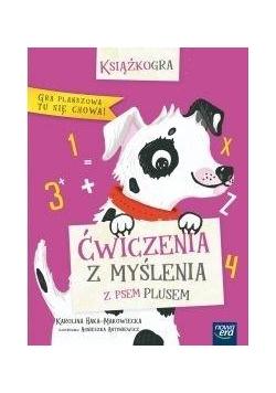 Książkogra. Ćwiczenia z myślenia z psem Plusem