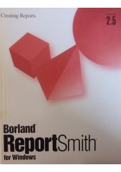 Borland ReportSmith for Windows ver.2.5