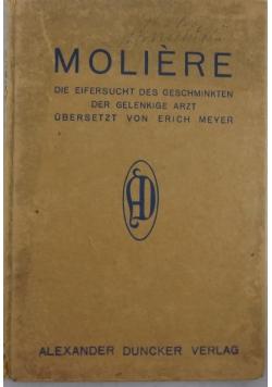 Die Eifersucht des Geschminkten der Gelenkige Arzt ubersetzt von Erich Meyer, 1911 r.