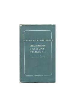 Zagadnienia i kierunki filozofii, 1949 r.
