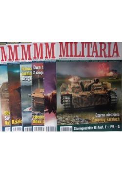 Militaria, zestaw 6 gazet