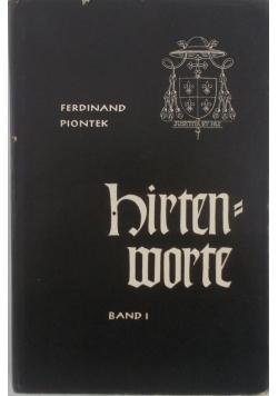 Hirtenworte, band 1