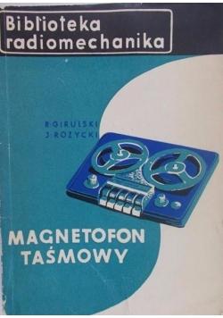 Magnetofon Taśmowy