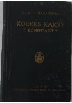 Kodeks karny z komentarzem, 1932 r.