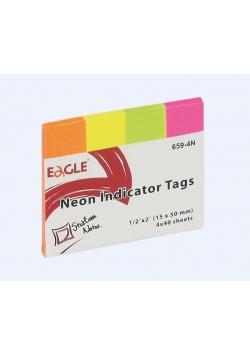 Notes samoprzylepny 15x50 zakładka 659-4N EAGLE