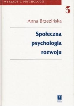 Społeczna psychologia rozwoju