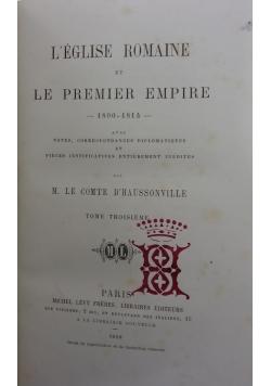 Le premier empire, 1868r.