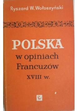 Polska w opiniach Francuzów XVIII w.