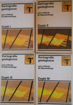 Kartografia geologiczna, tom I-IV