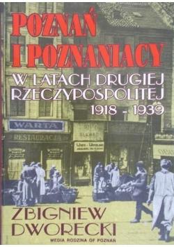 Poznań i poznaniacy w latach drugiej Rzeczpospolitej
