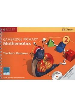 Cambridge Primary Mathematics Teacher's Resource 2 + CD