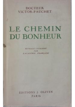 Le Chemin Du Bonheur, 1946r.