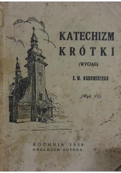 Katechizm krótki, 1938r.