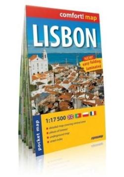 comfort! map Lizbona (Lisbon) plan miasta