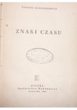 Znaki czasu ,1948r.