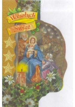 Karnet B Wycinany - Boże Narodzenie MIX