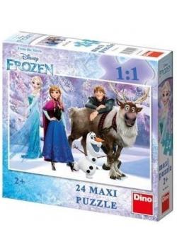 Puzzle 24 Maxi Kraina Lodu DINO