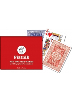"Karty poker ""Poker plastic"" PIATNIK"