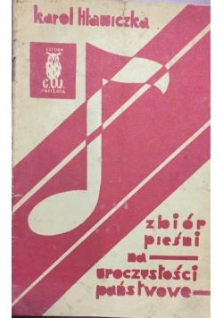 Zbiór pieśni na uroczystości państwowe, 1933 r.
