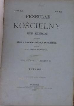 Przegląd Kościelny Tom XI, Nr. 62. 1907 r.