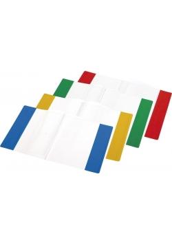 Okładka na zeszyt A4 PVC MIX (10szt)